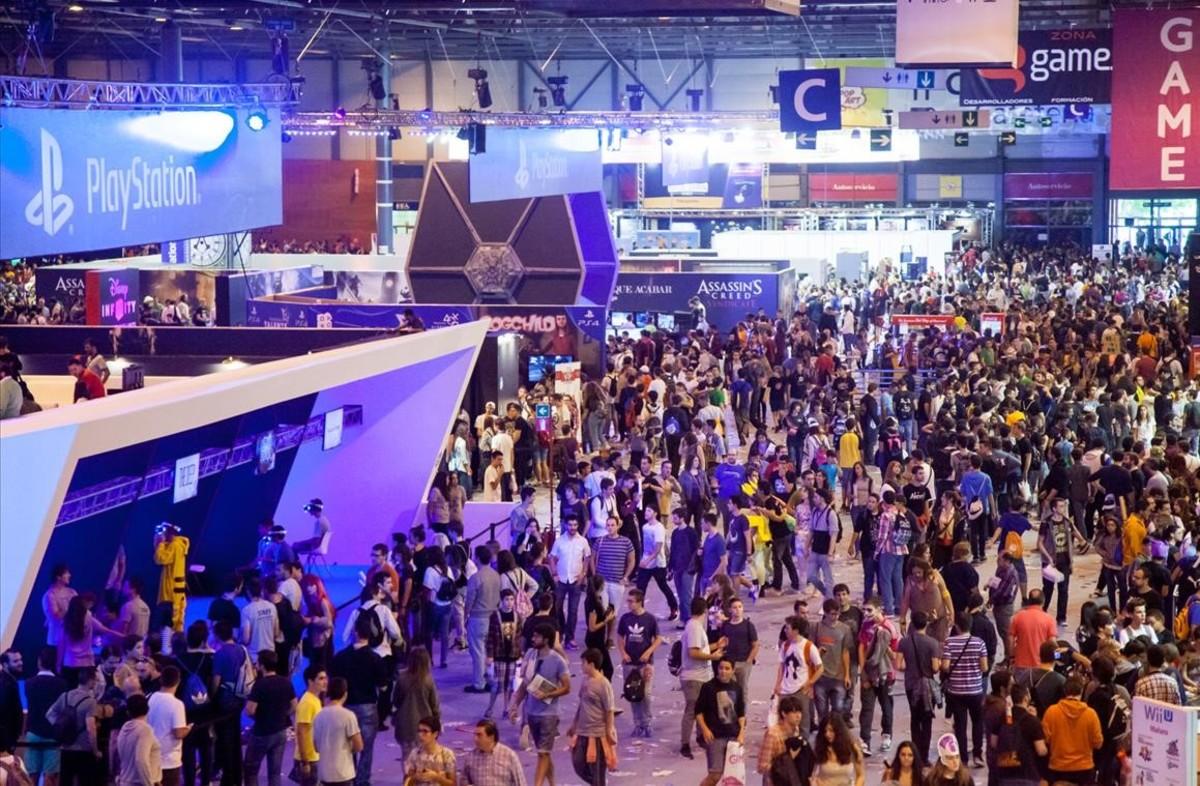 La Madrid Games Week es una de las muchas ferias dedicadas a la industria del videojuego.